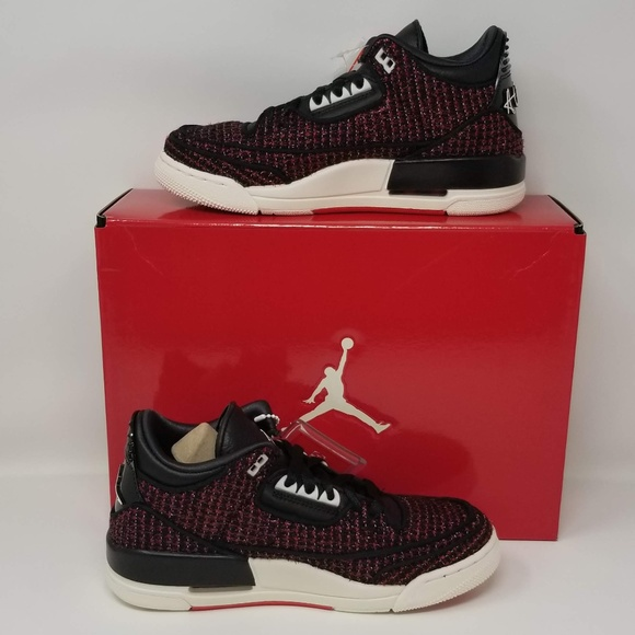 d91c5783c808a1 NIKE AIR JORDAN 3 SE AWOK VOGUE RED BLACK